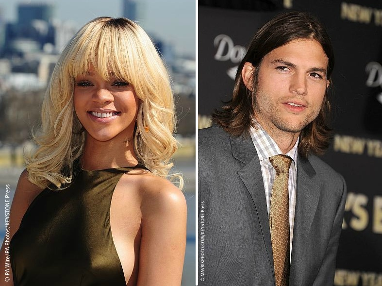 Ashton Kutcher dating Rihanna