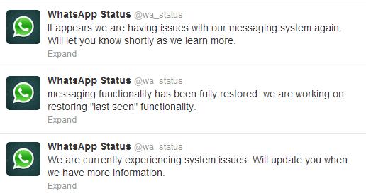 Whatsapp last seen not working