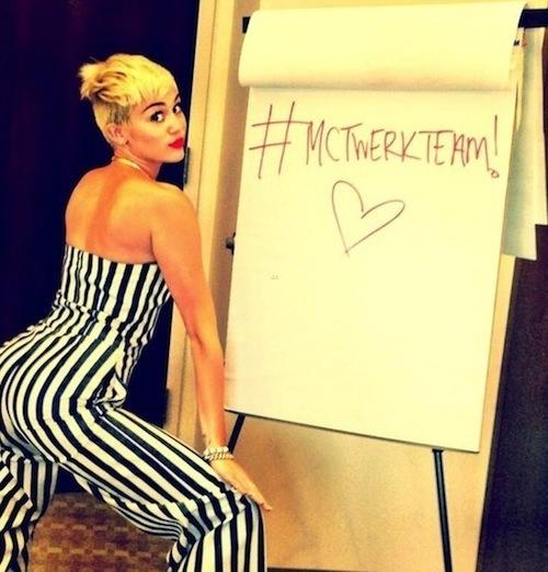 Miley Cyrus Twerk