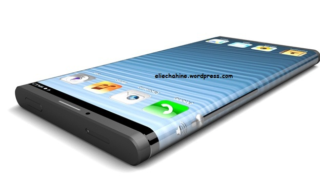iPhone 6 curved wrap AMOLED display