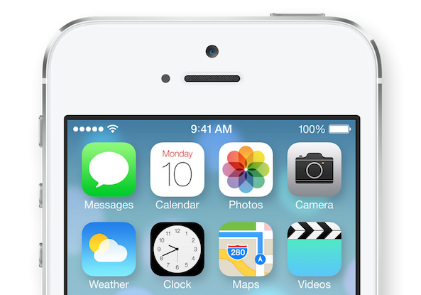 iPhone 5 on iOS7