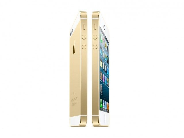 Gold iPhone 5S
