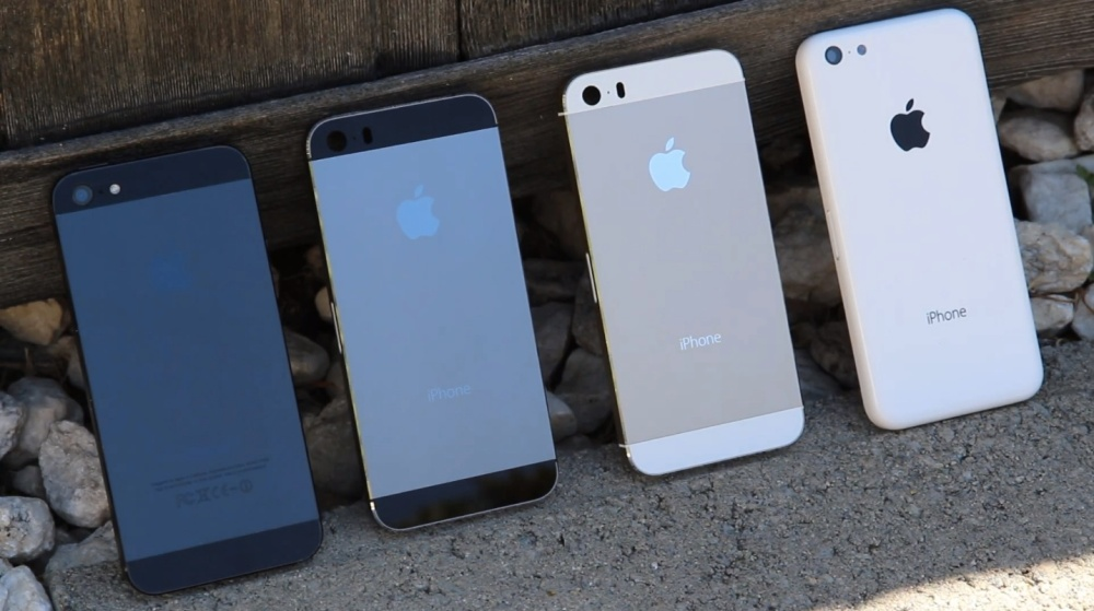 iPhones-iPhone-5-graphite-gold-iPhone-5S-iPhone-5C