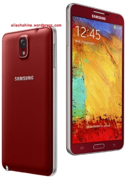 Samsung Galaxy Note 3 new colors: Red and Rose gold