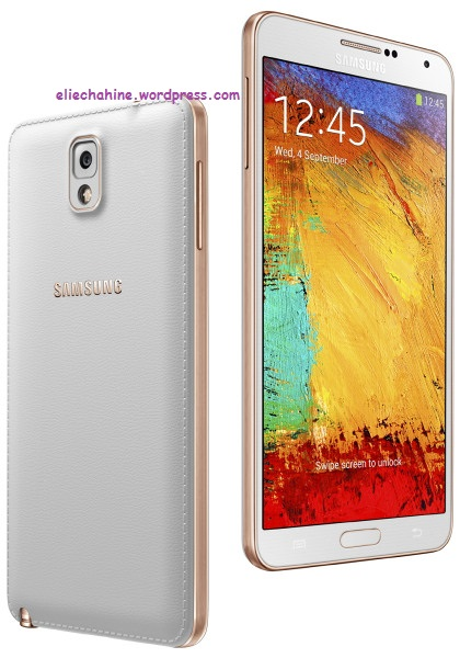 Note 3 Rose Gold