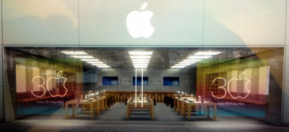 Apple-30-years-of-Mac-Apple-Stores-window-displays