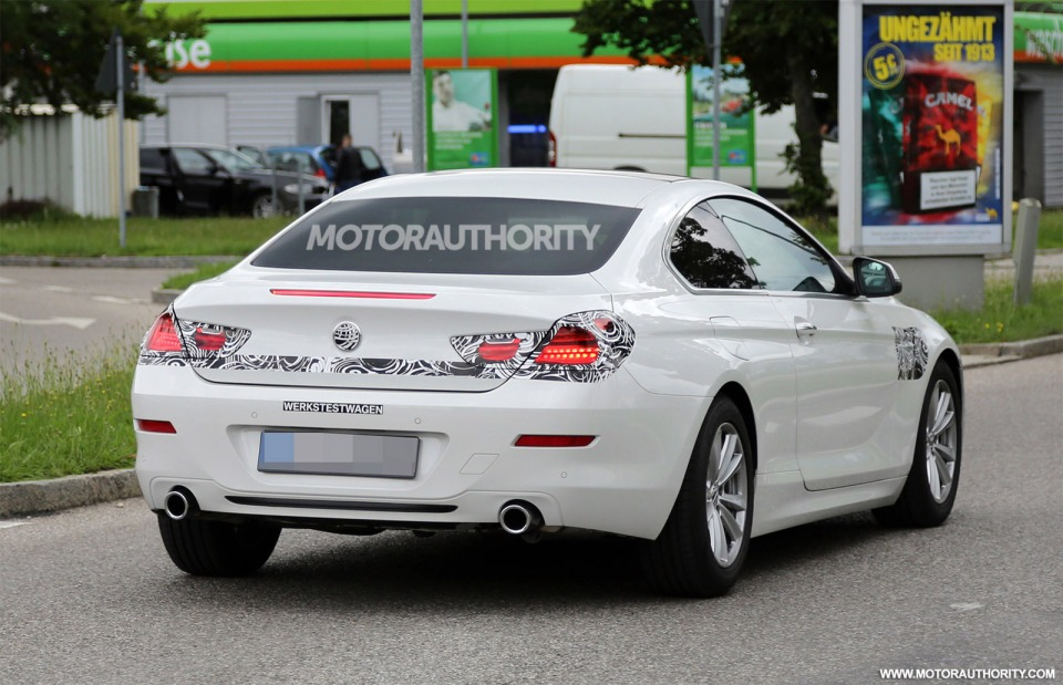 Spotted! This is the facelifted 2016 BMW 6-Series. Can you spot the updates?