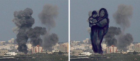 gaza-israel-rocket-strike-smoke-art-20
