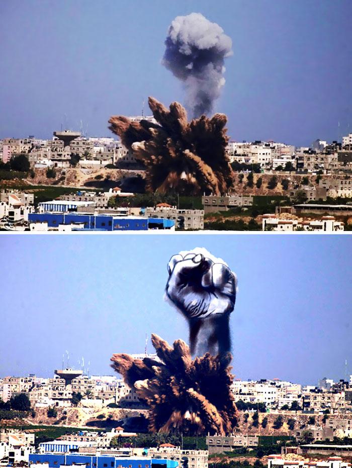 gaza-israel-rocket-strike-smoke-art-29 (1)