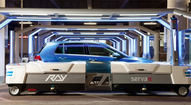 Automatic Parking Robot: just park your car and Ray will do the rest!