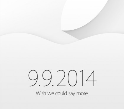 Apple sends out official invitations for Sept. 9 event!
