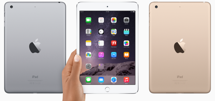 iPad Mini 3 Colors