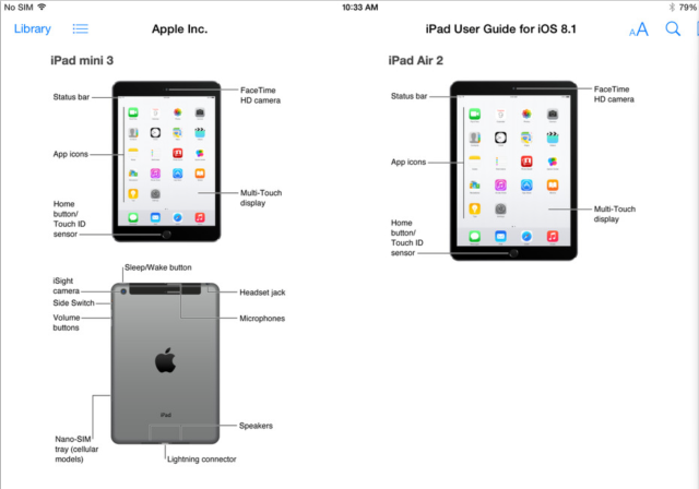 Apple accidentally confirms 'iPad Air 2′ and 'iPad mini 3′ with Touch ID and Burst mode!