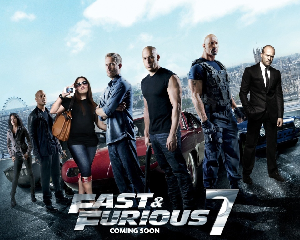 First official trailer for Fast and Furious 7 released!
