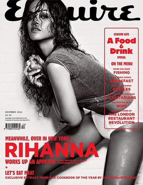 Rihana Esquire 2