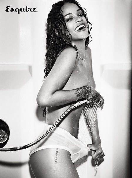 Rihanna Esquire 2