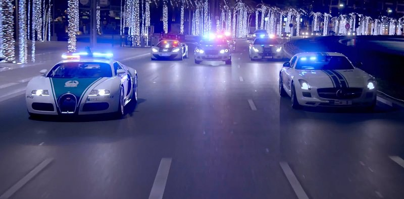 Dubai Police releases a new Breathtaking Video showing off the fastest Police Car Fleet in the World!