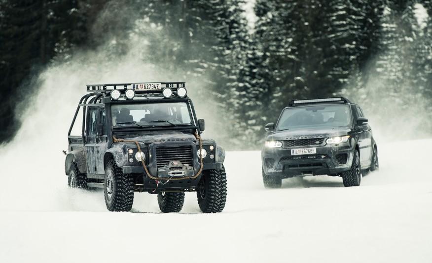 James Bond Spectre Range Rover