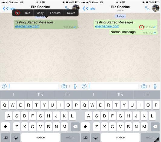 Whatsapp Bookmark iOS