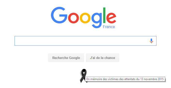 Google Black Ribbon France