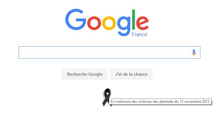 Google Black Ribbon France