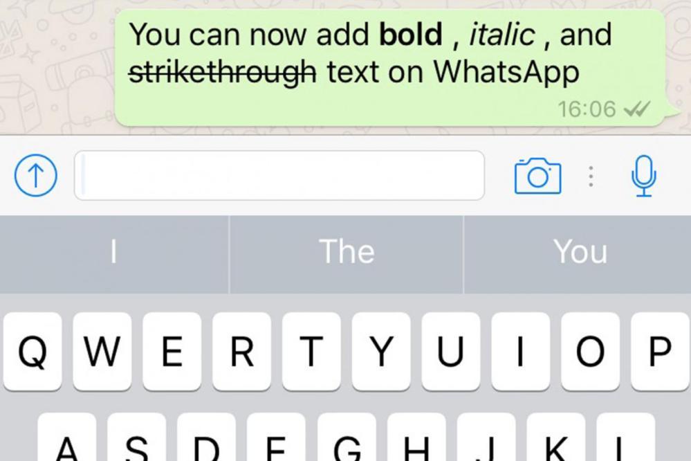 whatsapp new fonts