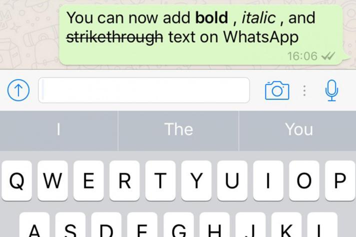 whatsapp new fonts
